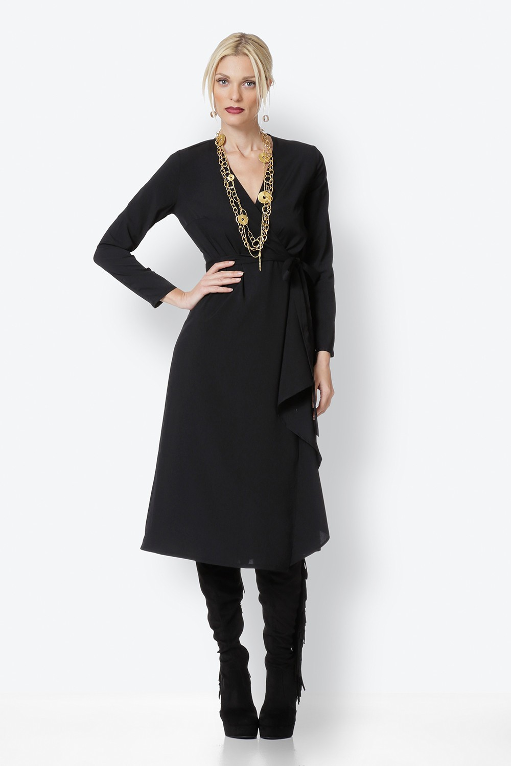 BLACK CLOS DRESS