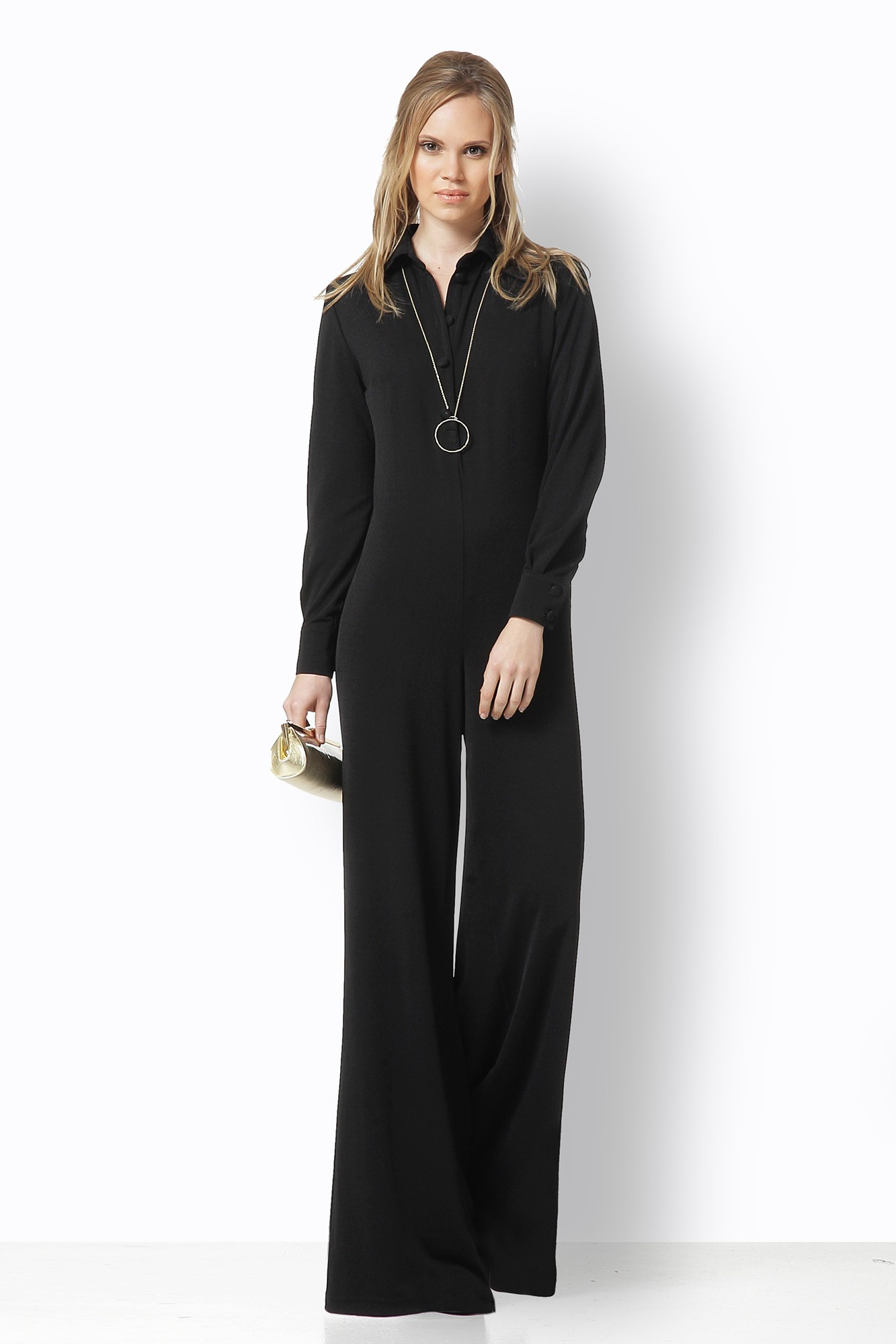 BLACK JUMPSUIT SEMIZIE