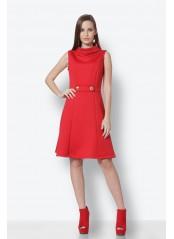 Φόρεμα κόκκινο μίνι
