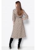 Φόρεμα midi carmida albo