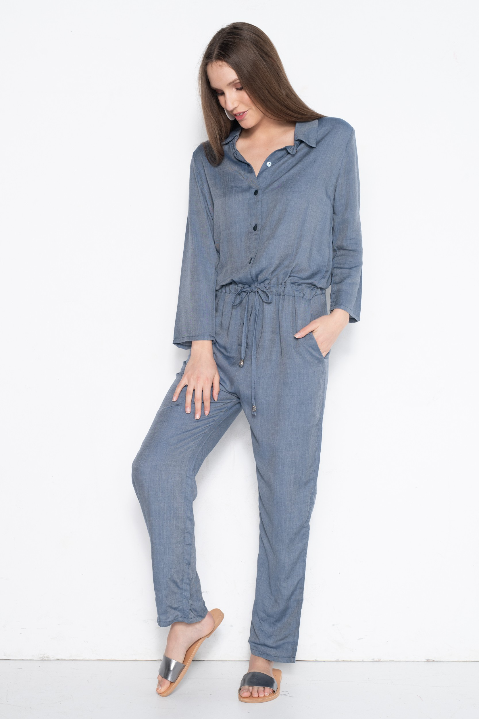 JESE BLUE JUMPSUIT